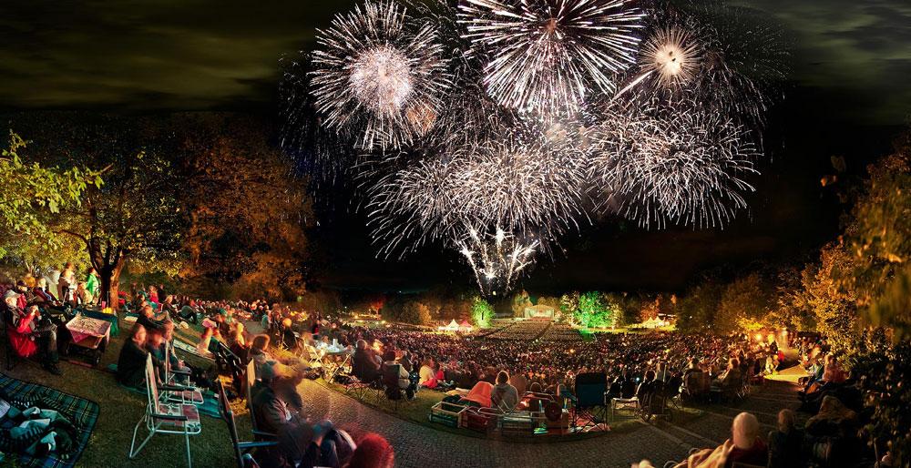 Feuerblumen Und Klassik Open Air Auvisign